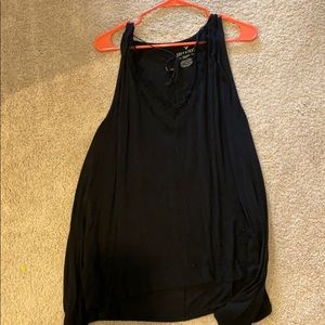 American Eagle lace up tie tank